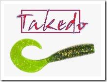 Твистеры Takedo. Силиконовые приманки Такедо