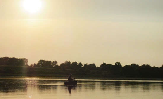 Летнее марево. Рыбалка в летний зной