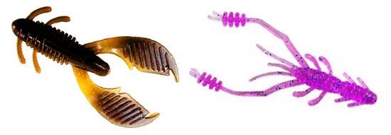 Рачки съедобка для окуневой рыбалки
