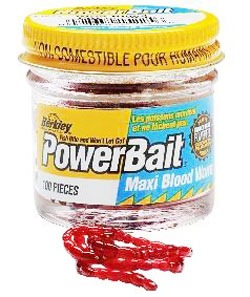 Berkley Maxi Blood Worm Power