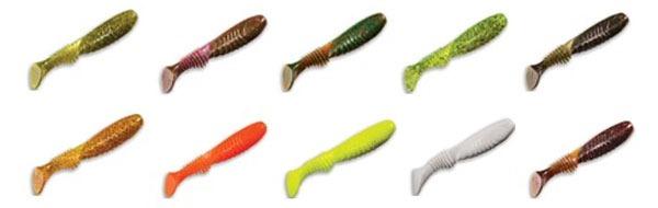 Цветовая палитра приманок Crazy Fish Dainty