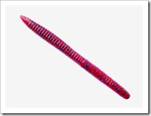 Крупный силиконовый червь Crazy Fish Magic Stick