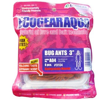 Пачка Ecogear Bug Ants