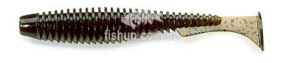 Ребристые виброхвосты FishUp U-Shad