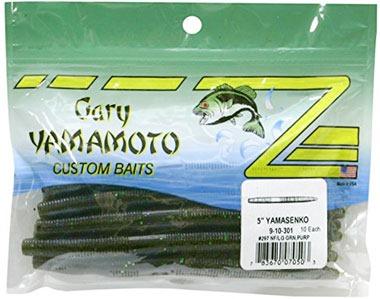 Упаковка силиконовых червей Gary Yamamoto Senko