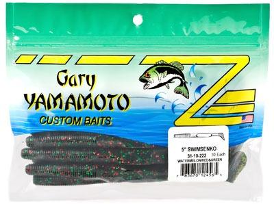 Пачка с мягкими приманками Gary Yamamoto