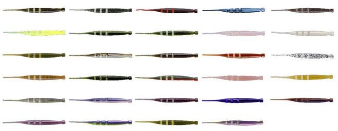 Богатство цветовой гаммы силикона Imakatsu