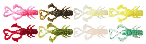 Цветовые решения Jackall Baby Dragon Rock Fish