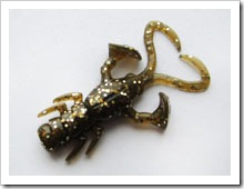 Силиконовые рачки Jackall Baby Dragon Rock Fish