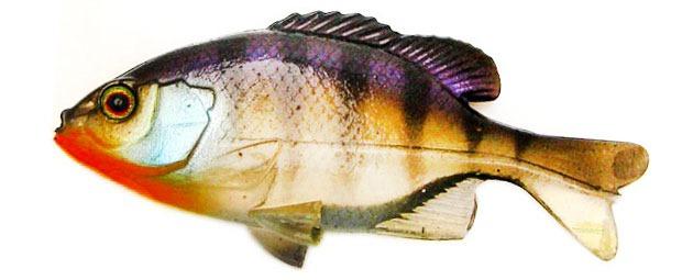 Силиконовые рыбки Jackall Clone Gill