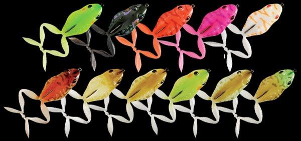 Расцветки Jackall Mask Frog