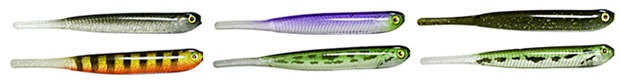 Расцветки слагов Jackall Super Pin-Tail