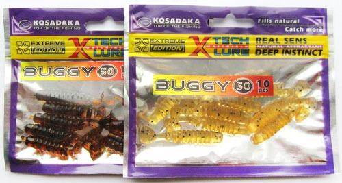 Приманки из силикона Kosadaka Buggy