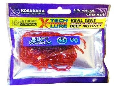 Пачка резины Kosadaka Soft Worm