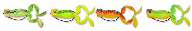 Цветовая палитра Kosadaka Target Frog