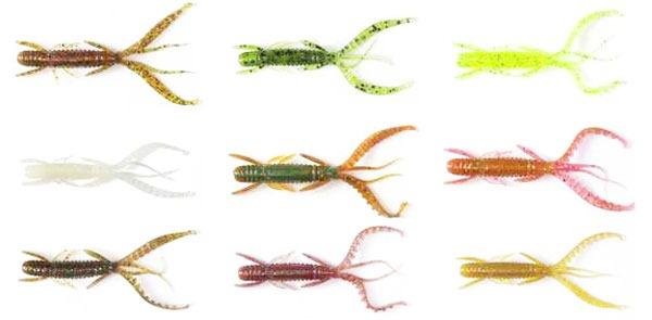 Цветовая палитра Lucky John Hogy Shrimp