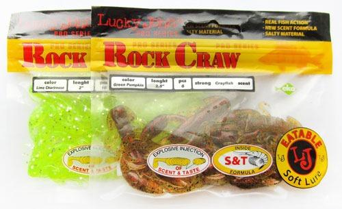 Пачки со съедобкой в форме рачков - Lucky John Rock Craw