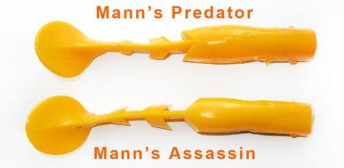Разница между Mann's Predator и Mann's Assassin