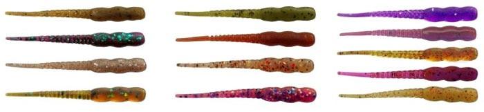 Некоторые ходовые цвета приманок Reins Aji Meat
