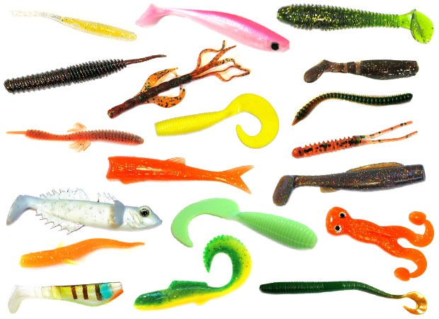 Большое разнообразие форм силикна Takedo
