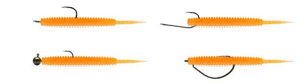 Tict Lizard Tail монтаж
