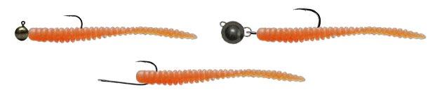 Монтаж силиконовых червей Tsunekichi Drift Stick