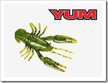 Силиконовые рачки YUM Crawbug. Отзывы