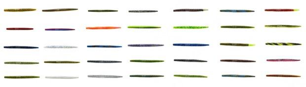 Цветовая палитра приманок YUM Dinger