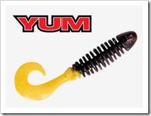 Силиконовые приманки YUM Wooly Curltail. Отзывы