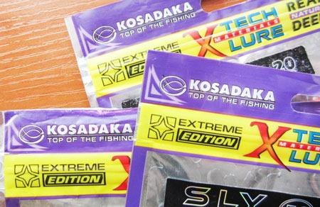 Самае бюджетные силиконовые приманки - Kosadaka