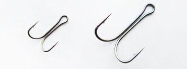 Двойные крючки для монтажа силикона