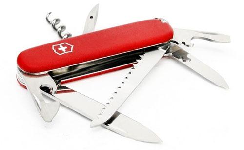 Складной нож с большим количеством инструментов