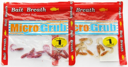 Пачки со съедобкой Bait Breath Micro Grub