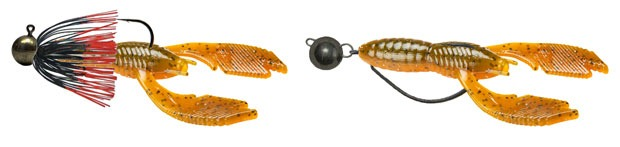 Монтаж резины Big Bite Baits Swimming Craw