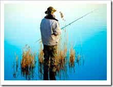 Выбор лучших мест для ловли рыбы