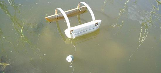 Ловля тайменя на кораблик