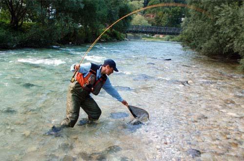 Снаряжение рыболова для форелевой рыбалки