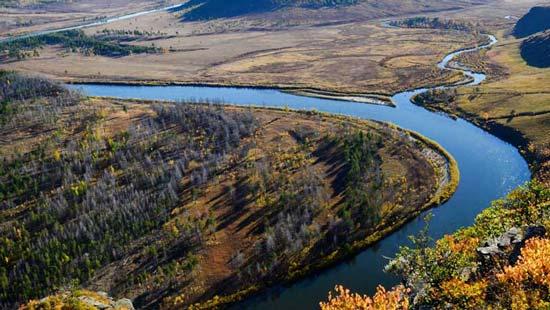 Река тайменя